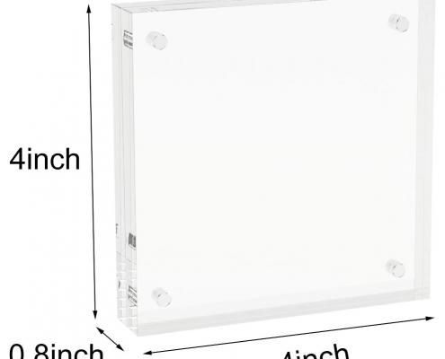 Acrylic Magnetic Block Frame-size