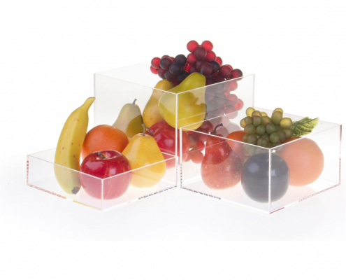 Acrylic Cube Display Nesting Risers-2