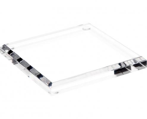 Rectangle Acrylic Beveled Display Base-4