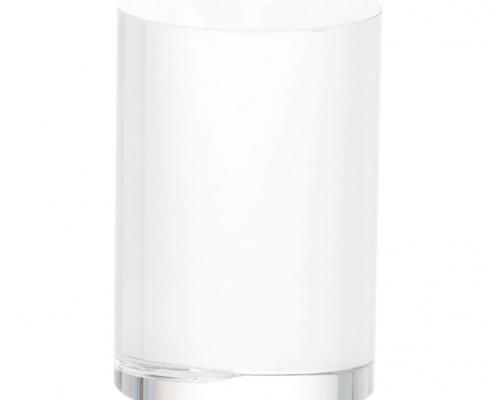 Round Shaped Clear Acrylic Blocks-5