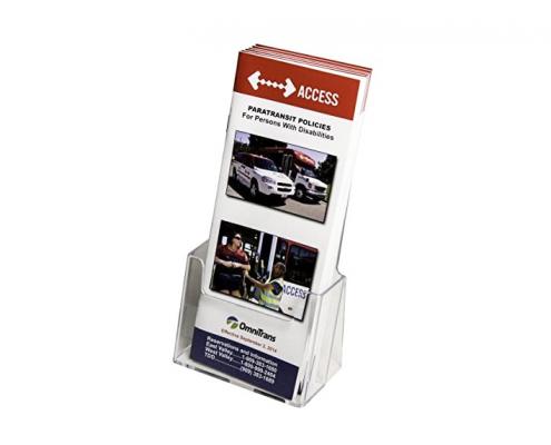 Acrylic Brochure Holder Stand - Single-1