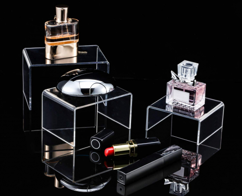 Clear Acrylic Display Risers For Jewelry & Perfume-1