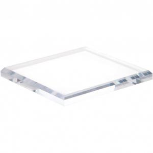 Rectangule Acrylic Beveled Display Base
