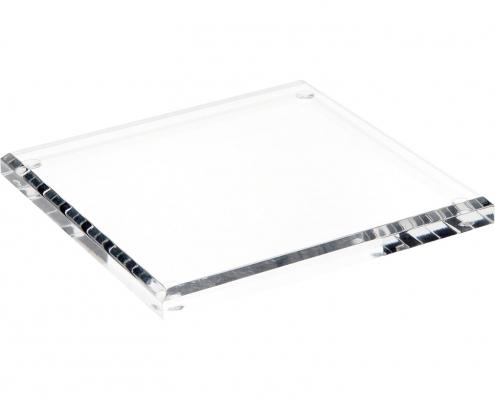 Rectangle Acrylic Beveled Display Base-1