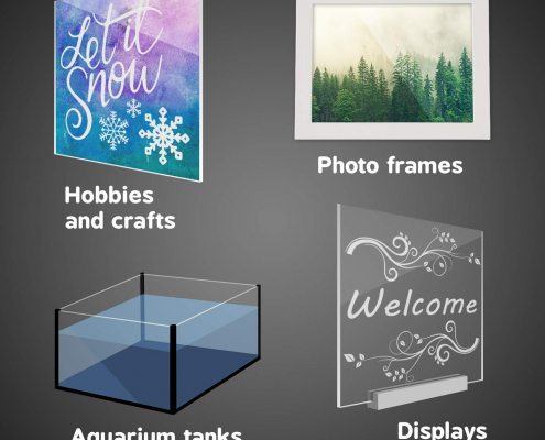 Clear Acrylic Sheets For DIY & Painting-5