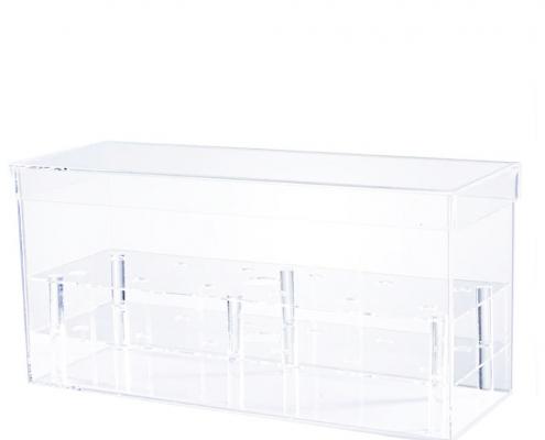 Acrylic Square Flower Vase Case-2