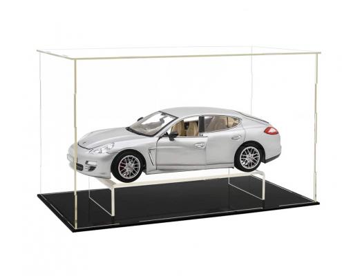 Clear Acrylic Assembled Rectangular Countertop Display Case-2