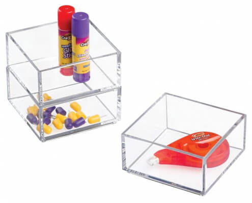 5 Sided Desktop Acrylic Display Boxes-2