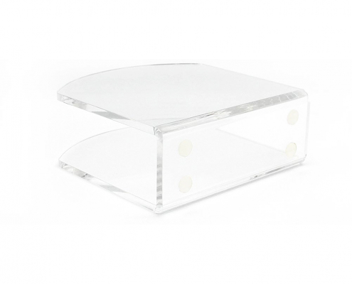 "Acrylic Paper Napkin Holder For Restaurant - 4.9"" × 4.9"" × 2""-1"