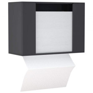 Acrylic Paper Towel Dispenser For Countertop - Black
