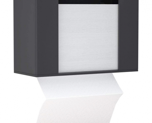 Acrylic Paper Towel Dispenser For Countertop - Black