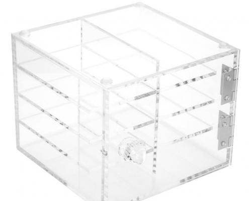 Clear Acrylic Eyelash Display Case - 4 Layer-1