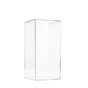 """Lucite Organizer Boxes for Gifts - 4"""" × 4"""" × 8"""""""