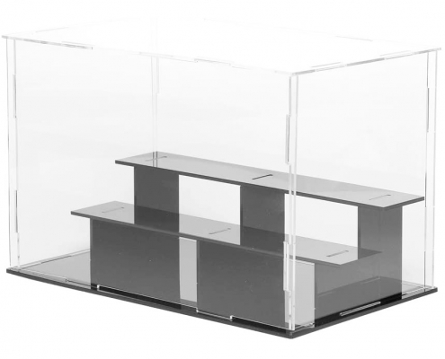 "3 Tier Acrylic Countertop Display Case - 9.4""× 5.5"" × 6.3""-1"
