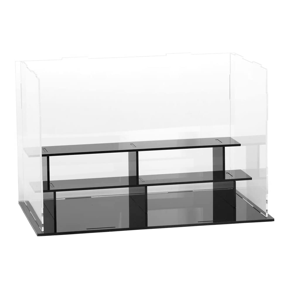 "3 Tier Acrylic Countertop Display Case - 9.4""× 5.5"" × 6.3"""