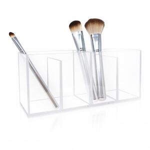 4 Compartment Clear Acrylic Organizer