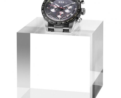 Solid Clear Acrylic Block For Bracelet & Watch-1