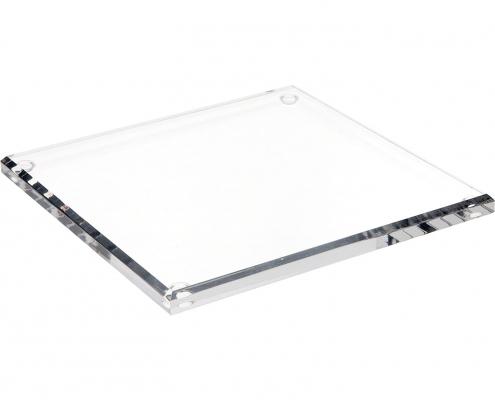 Rectangle Acrylic Beveled Display Base-2