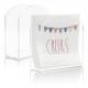 """Acrylic Paper Napkin Holder For Restaurant - 4.9"""" × 4.9"""" × 2"""""""