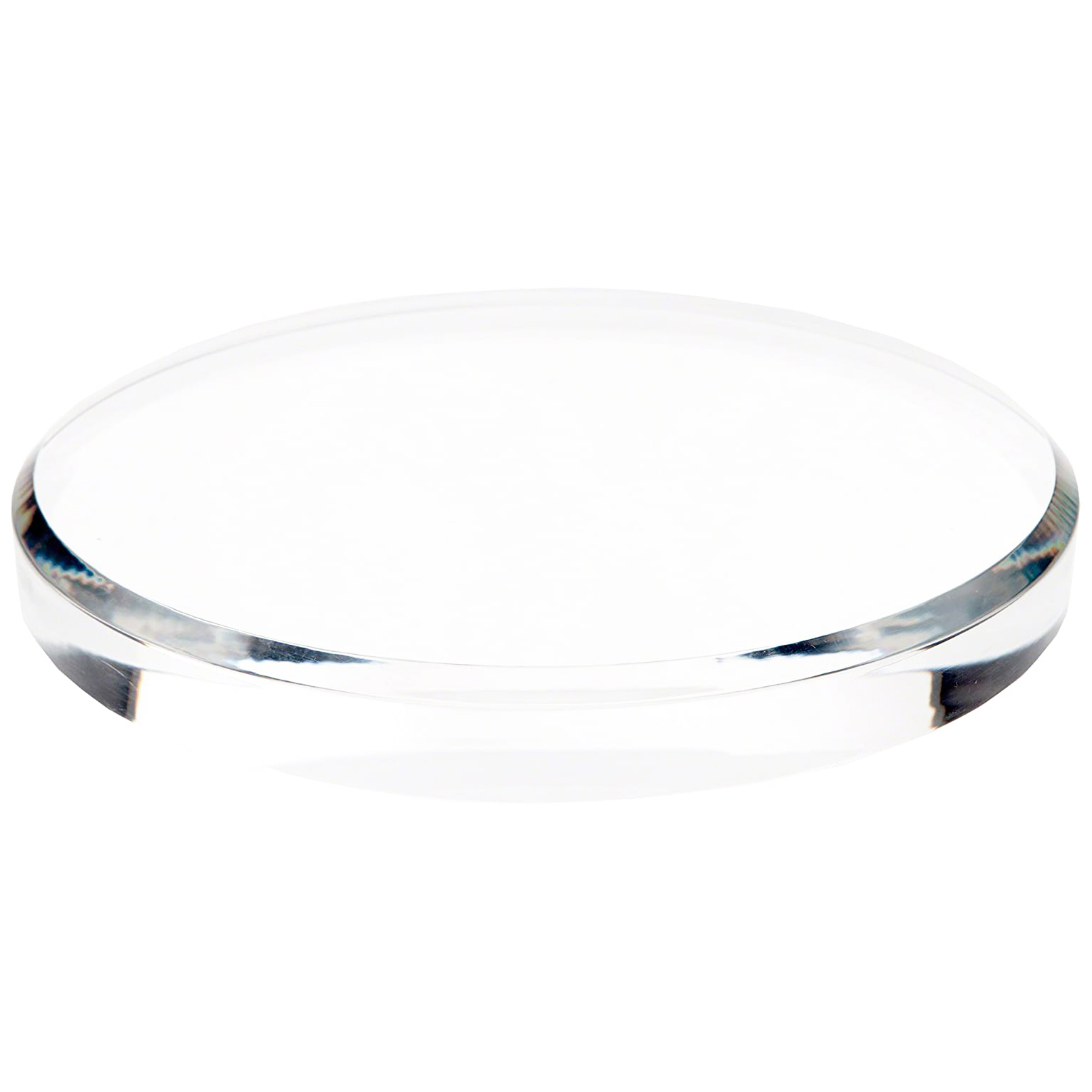 Clear Acrylic Round Display Base