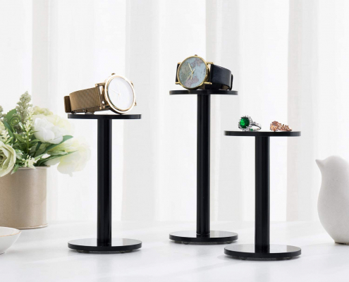 Acrylic Jewelry & Watch Display Pedestal Stands-3
