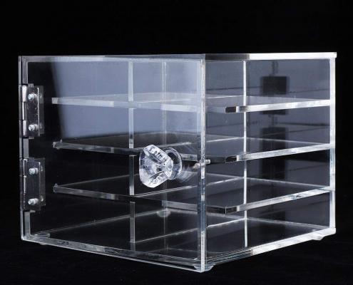 Clear Acrylic Eyelash Display Case - 4 Layer-6