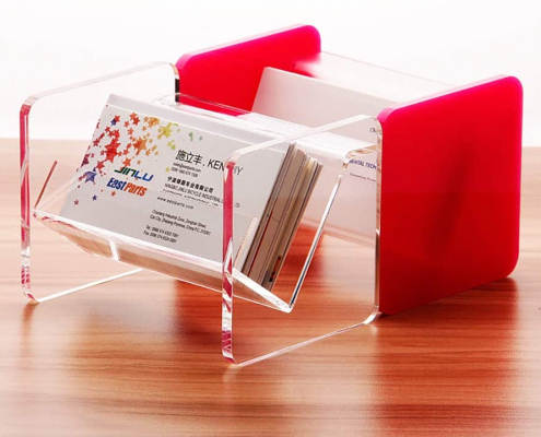 Tabletop Acrylic Business Card Display Holder-3