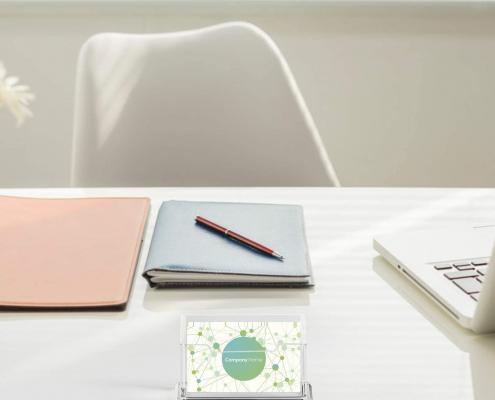 Acrylic Business Card Holder-3