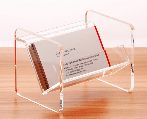 Tabletop Acrylic Business Card Display Holder-1