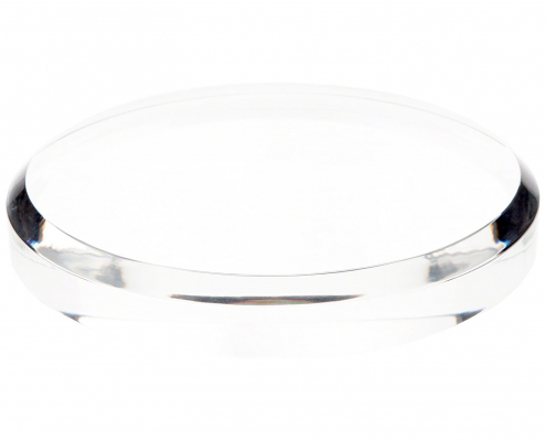 Clear Acrylic Round Display Base-1