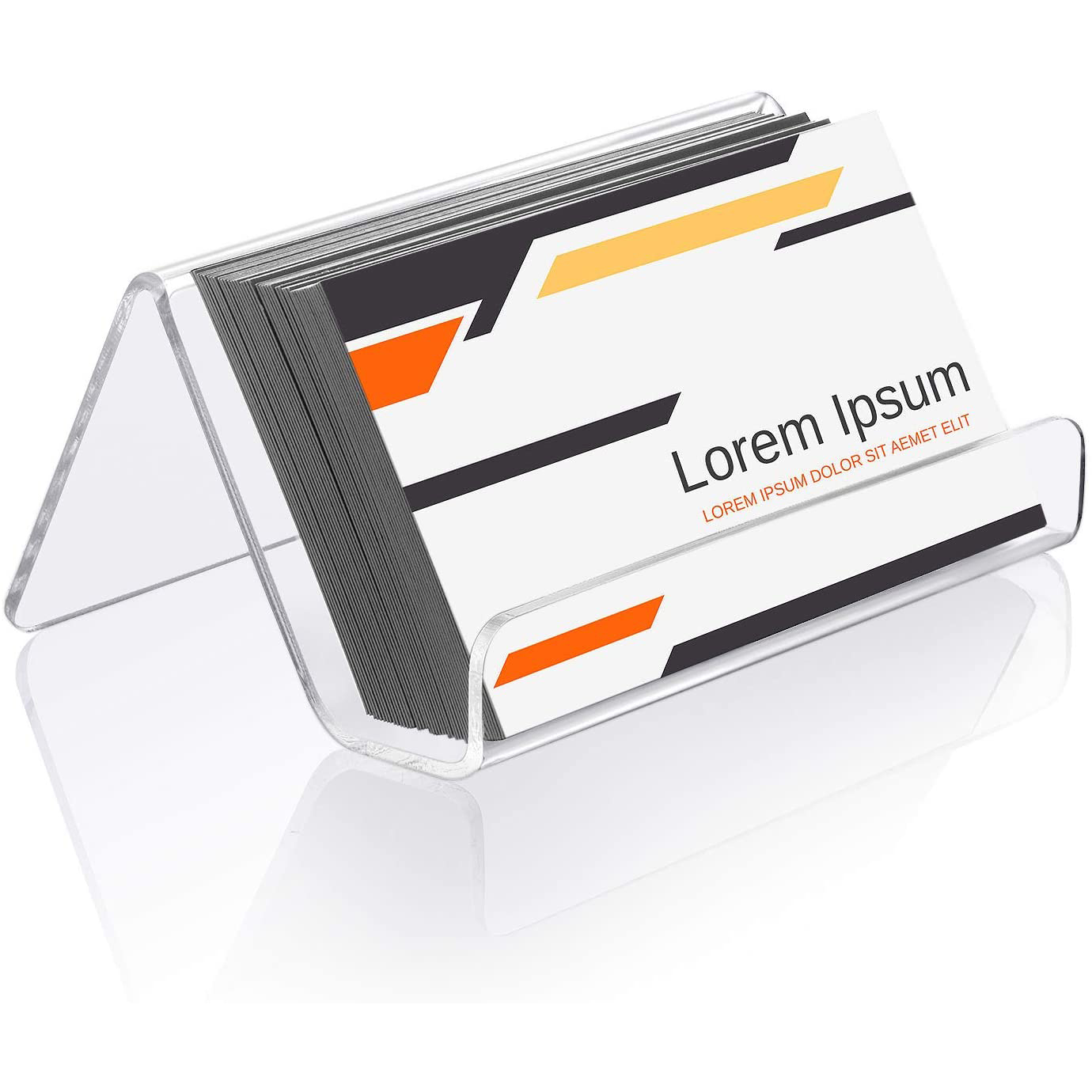 Clear Acrylic Business Cards Display Holders