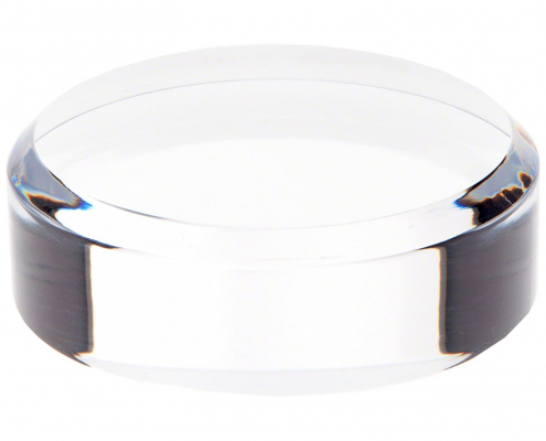 Clear Acrylic Round Display Base-3