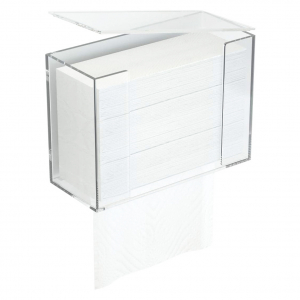 Acrylic Napkin Dispenser Box With Removable Lid