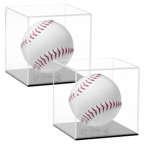 Small Acrylic Cube Softball Display Case - 12 x 12 x 12 cm