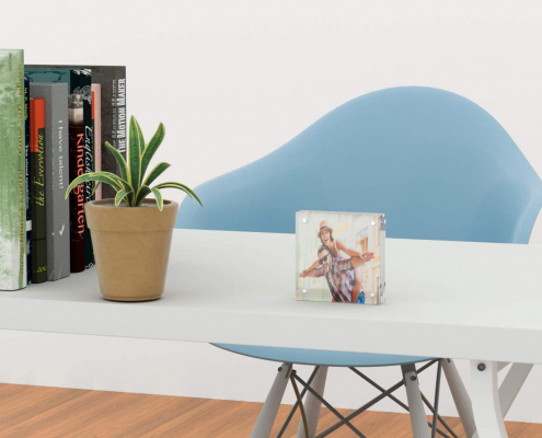 Acrylic Magnetic Block Frame-table