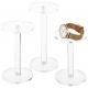 Acrylic Jewelry & Watch Display Pedestal Stands