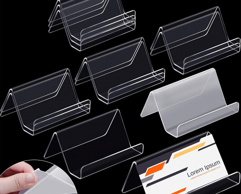 Clear Acrylic Business Cards Display Holders-4
