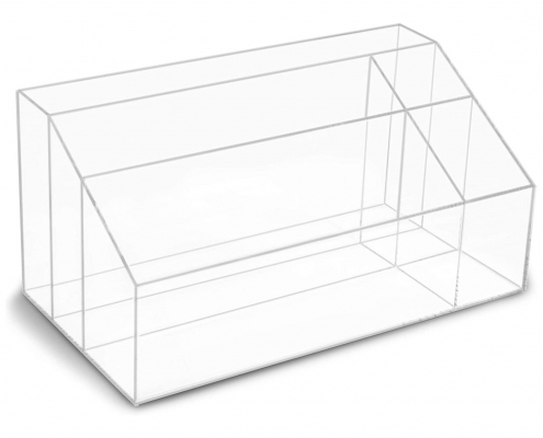 Clear Acrylic Desk Organizer For Home-1