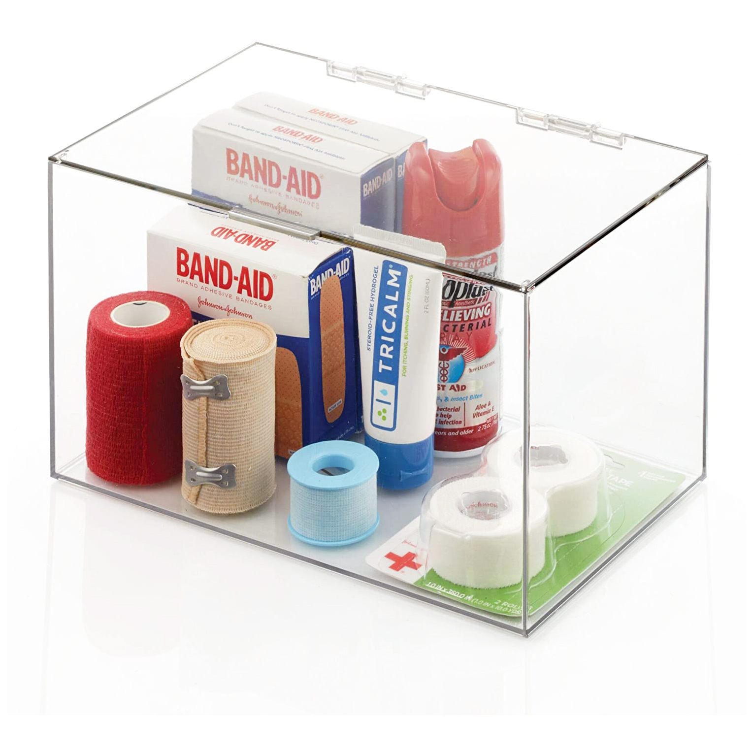 """Acrylic Storage Container Box with Lid - 11"""" × 7"""" × 6.5"""""""