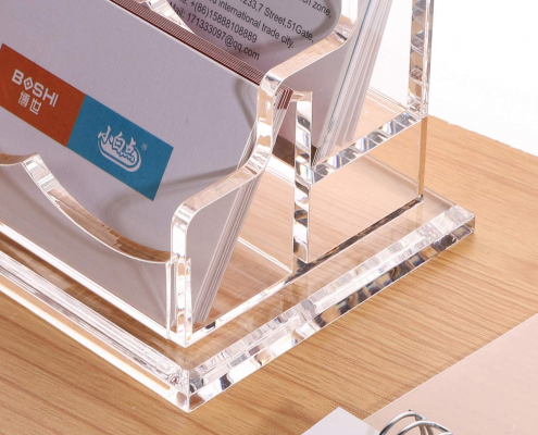 Clear Business Card Display Stand-4