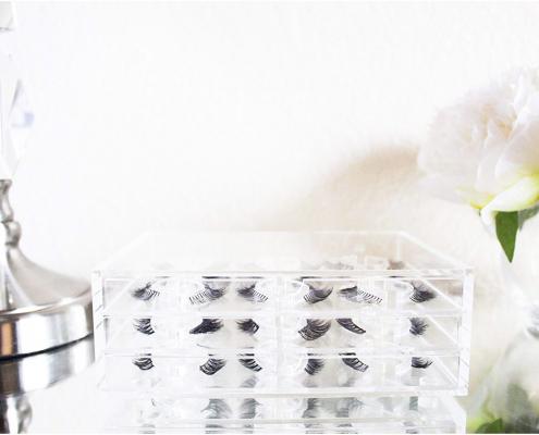 Hot Sale Acrylic False Eyelash Box - 9 Pairs-4