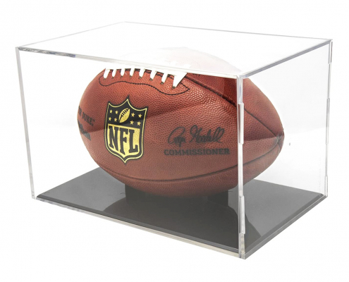 Clear Square Basketball & Football Display Box-3