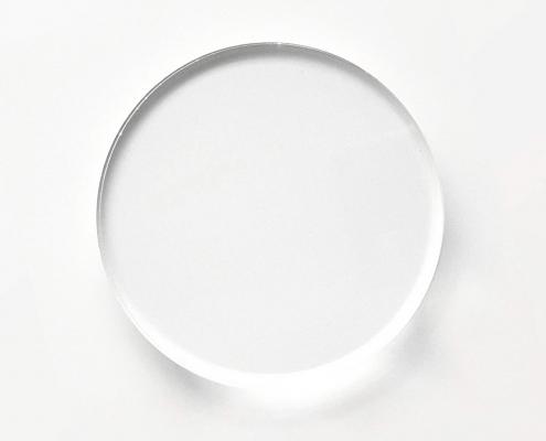 Round Shaped Clear Acrylic Blocks-3