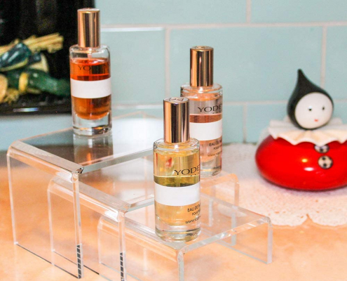 Clear Acrylic Display Risers For Jewelry & Perfume-4