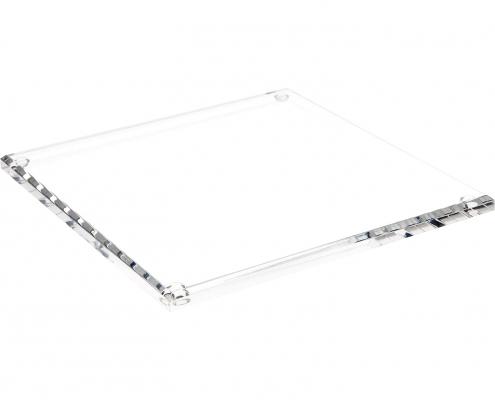 Rectangle Acrylic Beveled Display Base-3