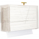 Wall Mount & Countertop Acrylic Paper Towel Dispenser