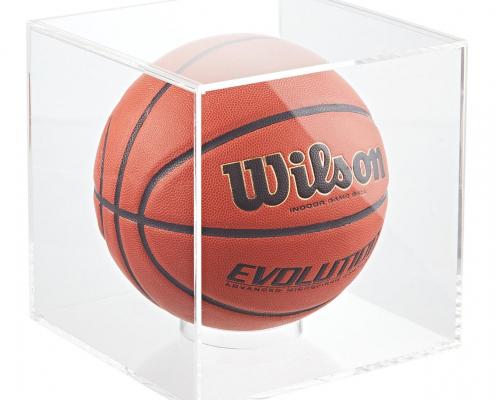 Acrylic Basketball & Soccer Display Cube-1