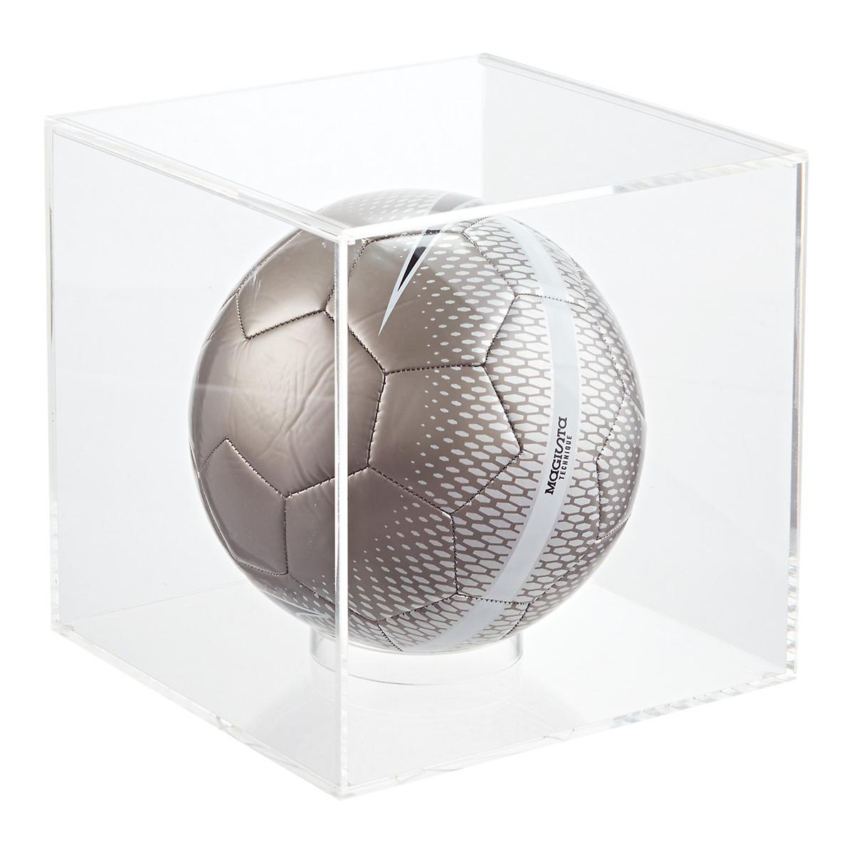 Acrylic Basketball & Soccer Display Cube