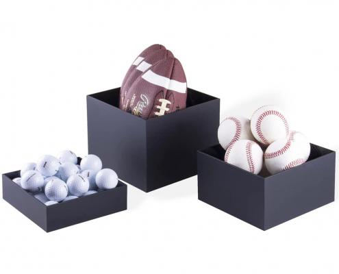 Acrylic Cube Display Nesting Risers-5