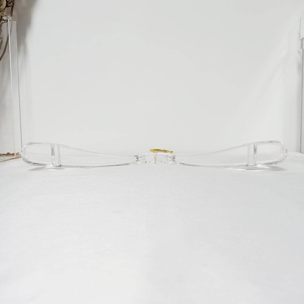 clear acrylic hangers custom hangers wholesale